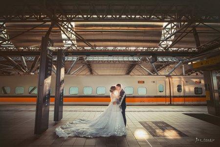 家豪&采緹結婚