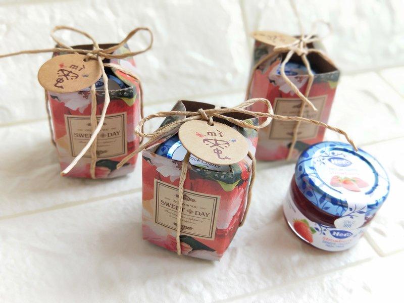 玫瑰花園果醬組作品