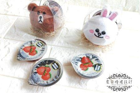 熊大/可妮兔-花朵造型果醬組