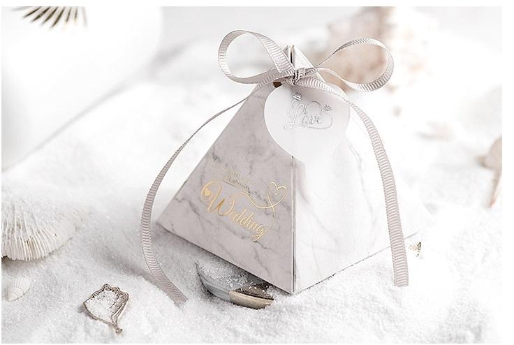 大理石喜糖盒作品