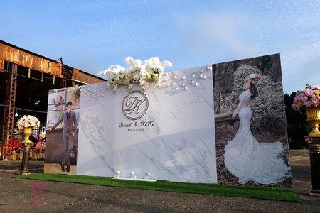 婚紗照大理石背板設計