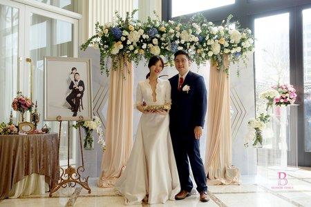 浪漫鮮花拱門