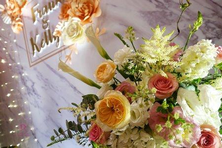 紙花X鮮花