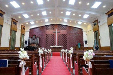 東門教會-證婚佈置