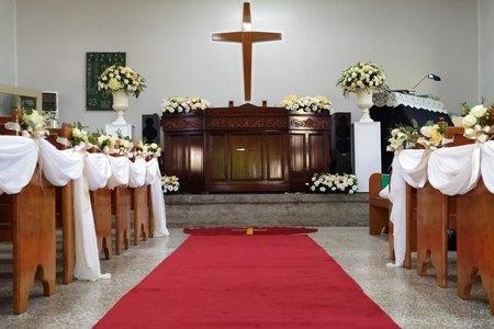 關子嶺教會-證婚佈置