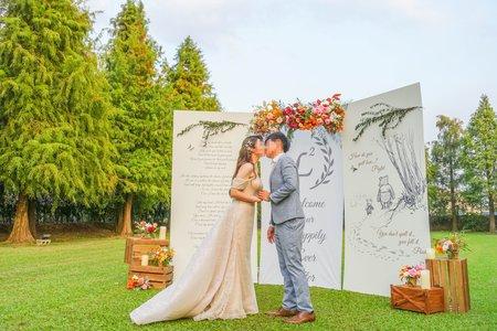 維尼熊-戶外婚禮