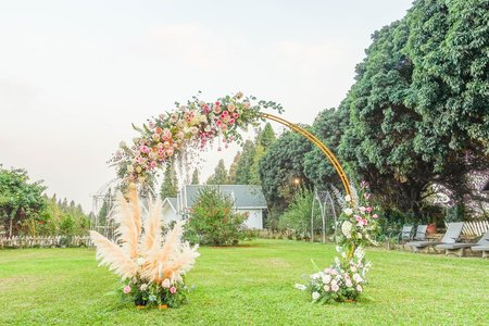 米奇風格戶外婚禮
