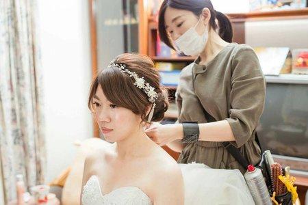 孟宜結婚造型紀錄(台中市)