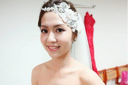 莉樺結婚造型紀錄(台南市)
