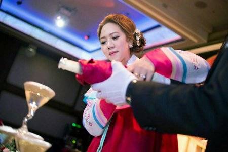 美雅結婚造型紀錄(台中市)