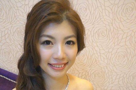 瑩珊結婚造型紀錄(桃園市)