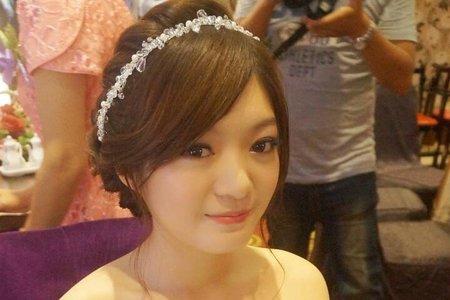 芷妘訂婚造型紀錄(台中市)