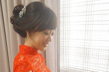 涵筠訂婚造型紀錄(台中市)
