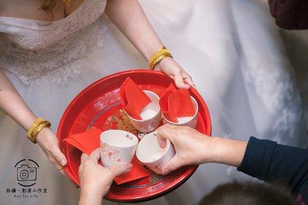 俊憲 & 怡如/婚禮紀錄/台南自宅