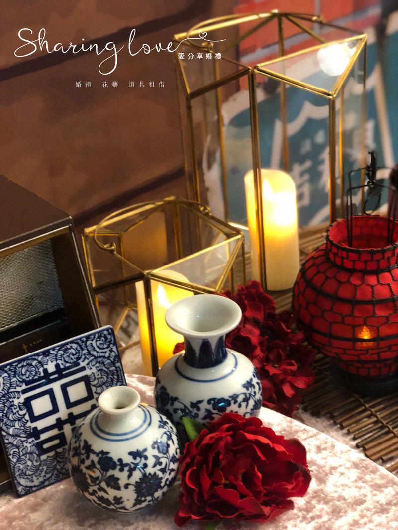 中式流金系列桌面道具作品