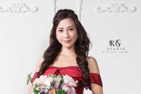 【造型參考】甜美公主纏捲髮