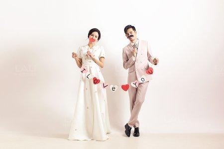 台風婚紗照
