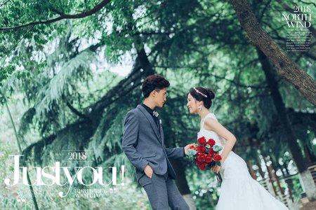 <麋鹿系森林風格>徠麗視覺婚紗攝影