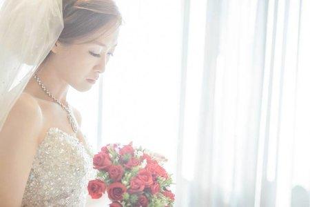 新娘作品集:結婚迎娶-新秘千越