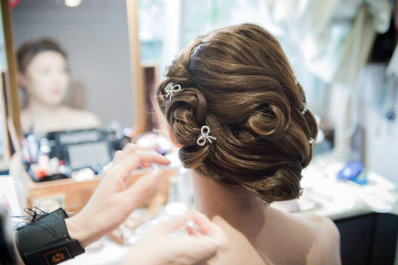 新娘妝髮整體造型設計