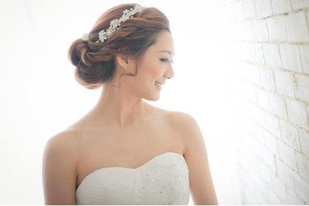 新娘秘書千越作品集-新娘包頭