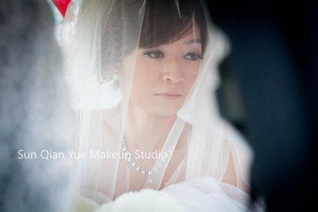 新秘孫千越|結婚迎娶新娘造型