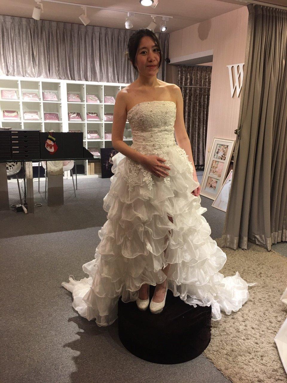 WH-為您好事韓風婚紗,驚喜的不斷的試婚紗過程❤
