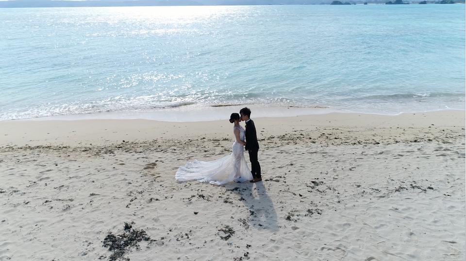 京艷婚禮錄影/動態錄影/婚禮攝影/錄影,小資女的地表最強海外婚紗側錄!