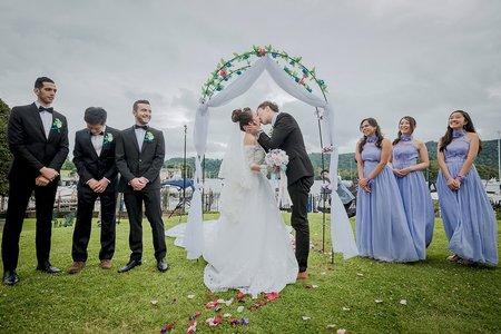 攝影作品-英國海外婚禮