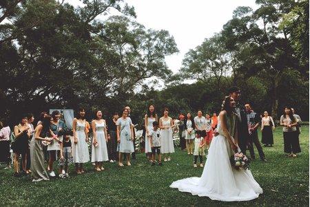 顏氏牧場/戶外證婚/美式婚禮