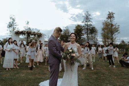 婚顧作品-西式證婚與宴會/戶外婚禮專家