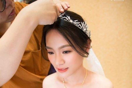 婚禮現場作品-白紗造型-攝影師搶先版