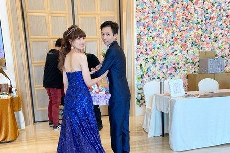 婚禮現場作品-時尚高馬尾