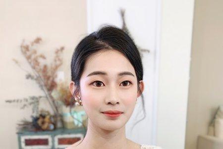 妝髮作品-韓風低盤