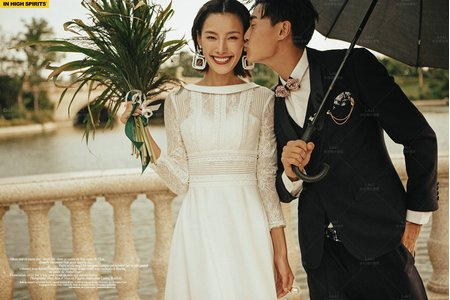 婚紗禮服-第二季-輕婚紗U1932
