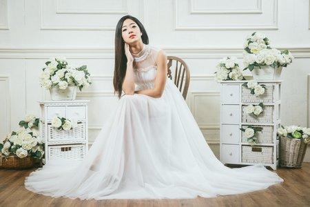 韓式朦朧輕婚紗