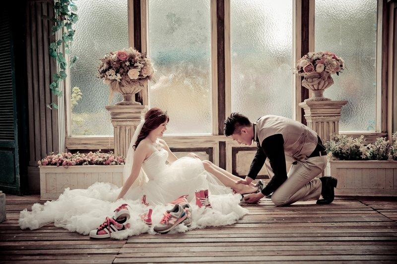 中壢婚紗推薦【為愛一生】婚紗包套作品