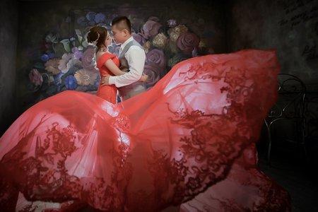 【中世紀奢華感歐系風格婚紗照】Mr.Z客照