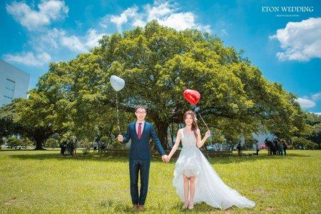 桃園拍婚紗💛伊頓自助婚紗客照精選