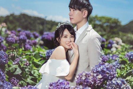 繡球花婚紗-台北拍婚紗-伊頓自助婚紗推薦❤️