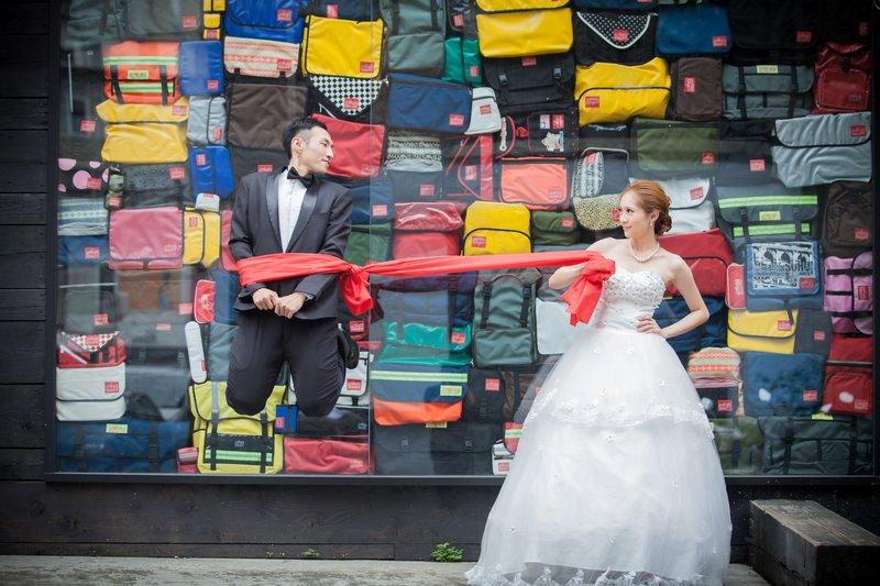 新竹婚紗包套【訂結同天】為愛一生的貼心作品