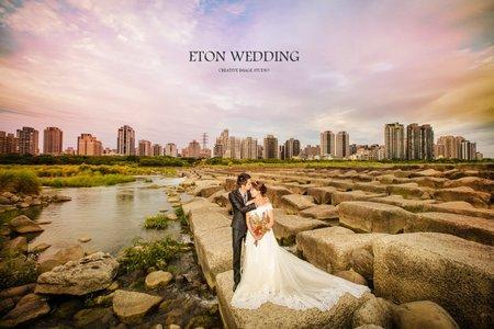 夕陽下,最美的妳💐C&G客照分享-新竹伊頓自助婚紗