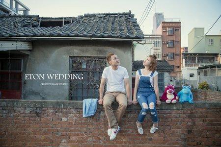 新竹婚紗推薦💛-伊頓自助婚紗客照分享