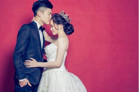 新竹婚紗棚拍【心心相印】室內攝影棚