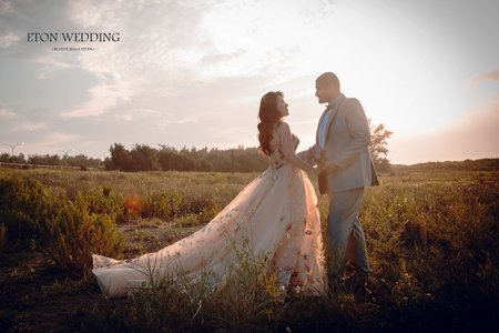 ❤️回台拍婚紗-新竹婚紗伊頓海外新人客照分享❤️