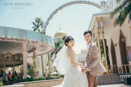 🎠夢幻樂園婚紗🎡-新竹婚紗推薦-伊頓自助婚紗