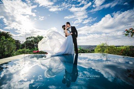 【浪漫甜美基地婚紗】伊頓新竹婚紗推薦💚