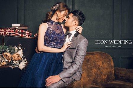 新竹拍婚紗 | 棚拍婚紗推薦 | 伊頓自助婚紗