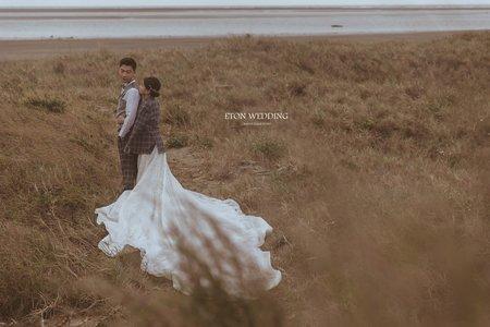 新竹外拍婚紗風格推薦 | 廟宇.樹林.海邊.沙丘.咖啡廳