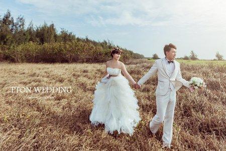 【幸福,氛圍】- 伊頓台南婚紗推薦💙